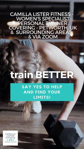 train BETTER Campaign