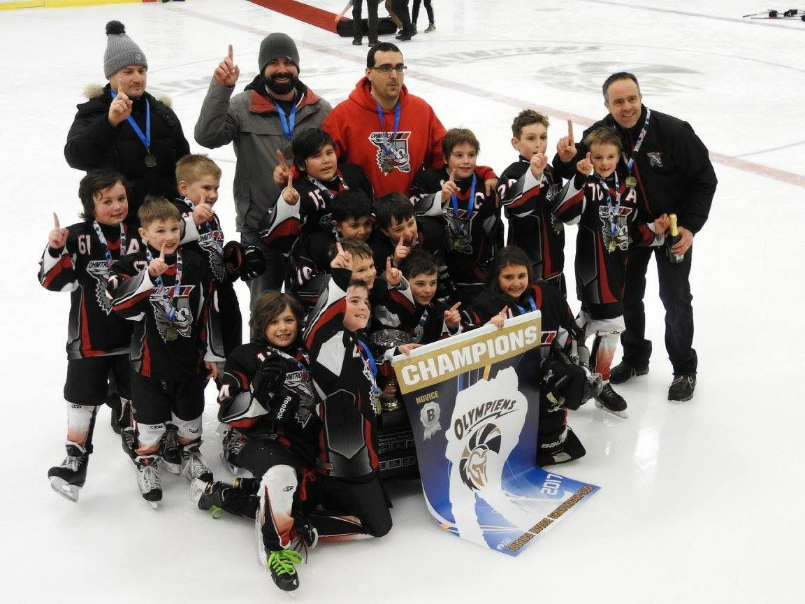 Félicitations Ducs Novice B!
