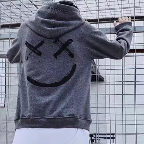 trendy printed sweatshirt
