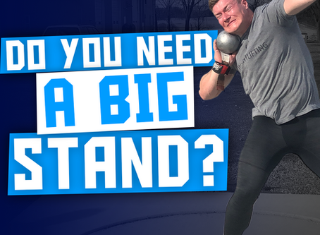 Do Shot Putters Need a Monster Stand?