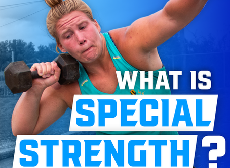 Special Strength for Throwing