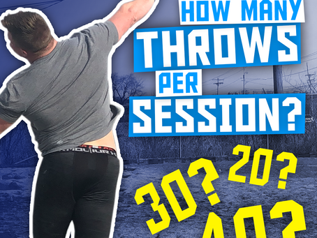 How Many Throws Per Session?