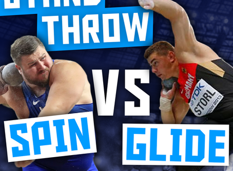 Glide vs. Spin: Standing Throw