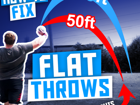 How to Stop Throwing Flat (Rotational Shot Put)