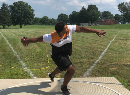 How to Rotate the Right Foot (Spin/Discus)