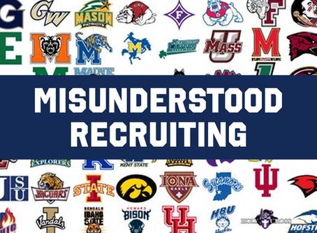 Misunderstood Recruiting: Raw vs. Trained