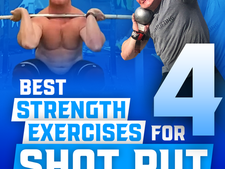 4 Best Strength Exercises for Shot Put