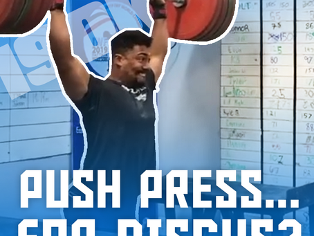 Push Press...for Discus?