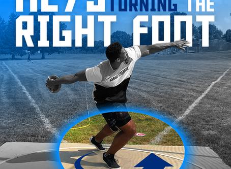 Three Keys to Turn the Right Foot