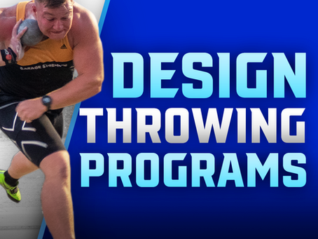 Designing a Throwers Training Session