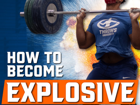 How to Increase Explosiveness for Throwing