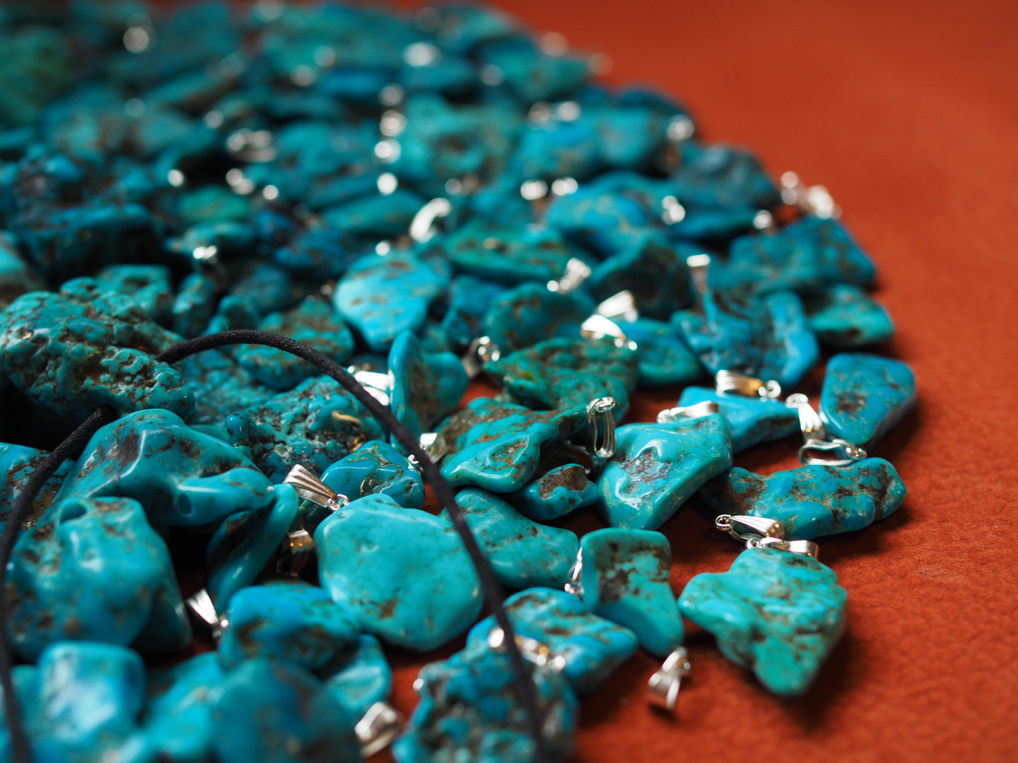 Turquois - Fossilmineral Giebfried
