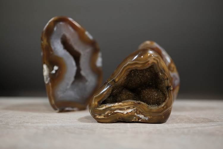 Agate - Fossilmineral Giebfried