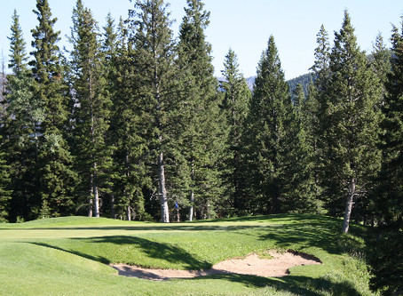 18 Holes with a Cart and Range Balls for Two or Four at Crowsnest Pass Golf & Country Club (Up t
