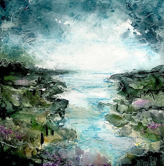 Sea Lavender Salt Marsh
