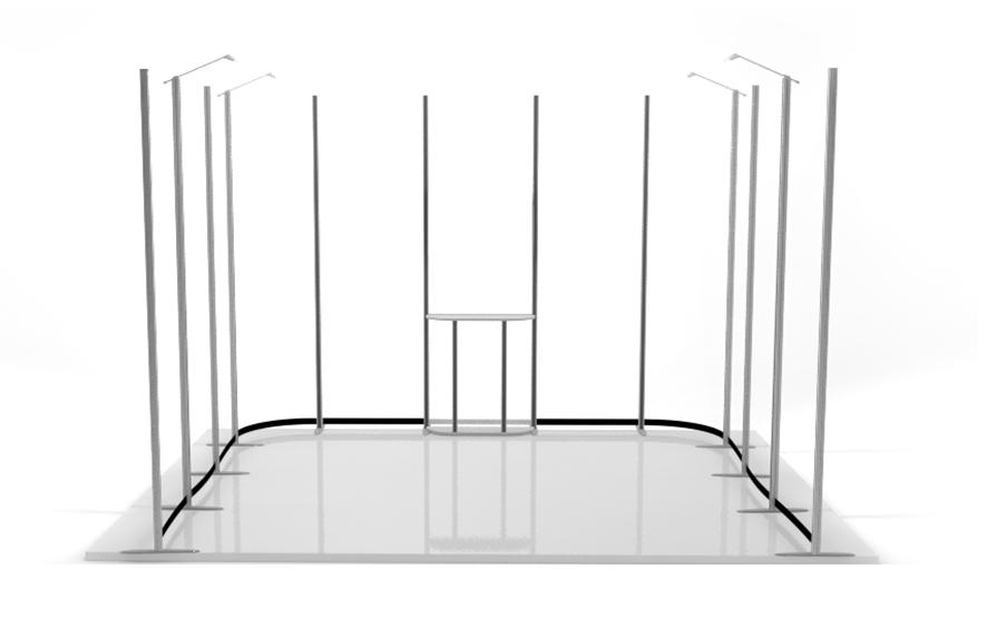4x3 Wave 3 côtés structure seule