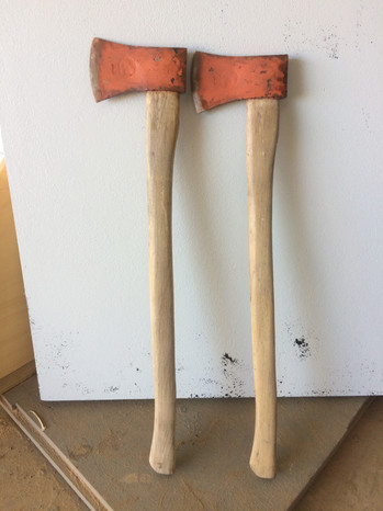 Soft axe... Guess which one is the real one?