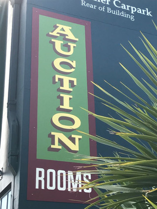 Auction House sign