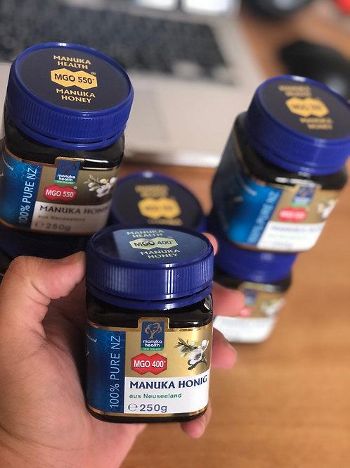 Manuka Honey MGO400, 250 grams