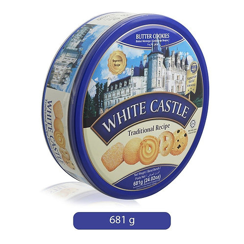 White Castle Traditional Recipe Butter Cookies, 681 gm