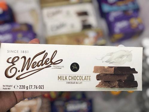 E.Wedel Premium Milk Chocolate 220g
