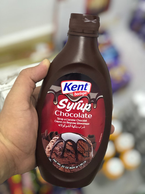 Kent Boringer Chocolate Syrup - 624 grams
