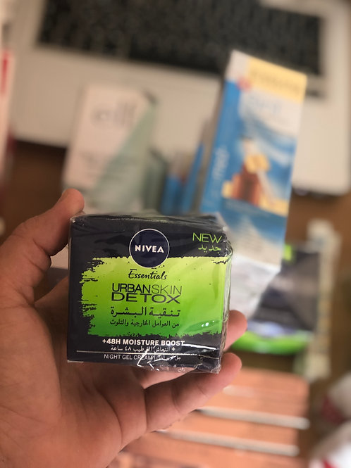 Nivea Urban Detox Night Care Whitening, 50 ml