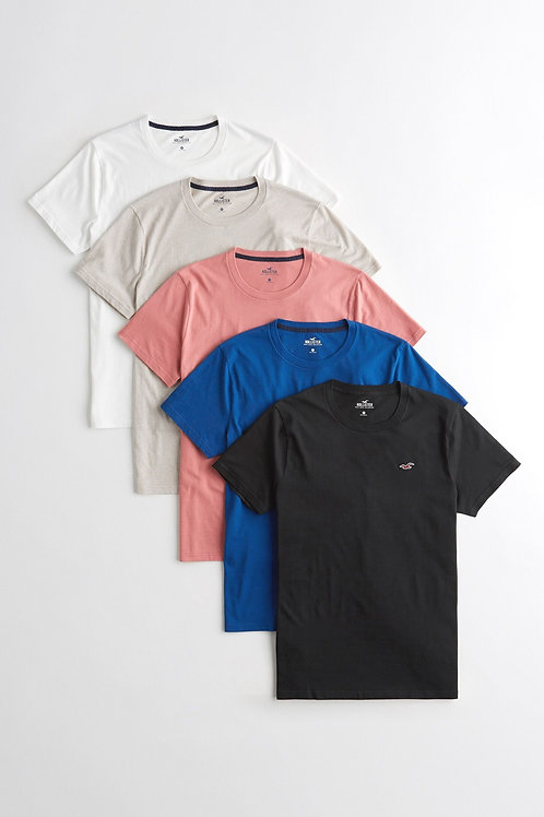 Hollister Five T-Shirts Short Sleeve