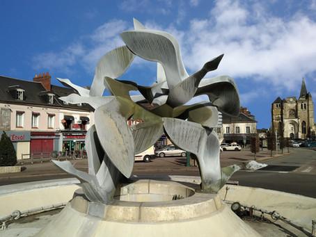 Fontaine de l'Envol - Le Neubourg