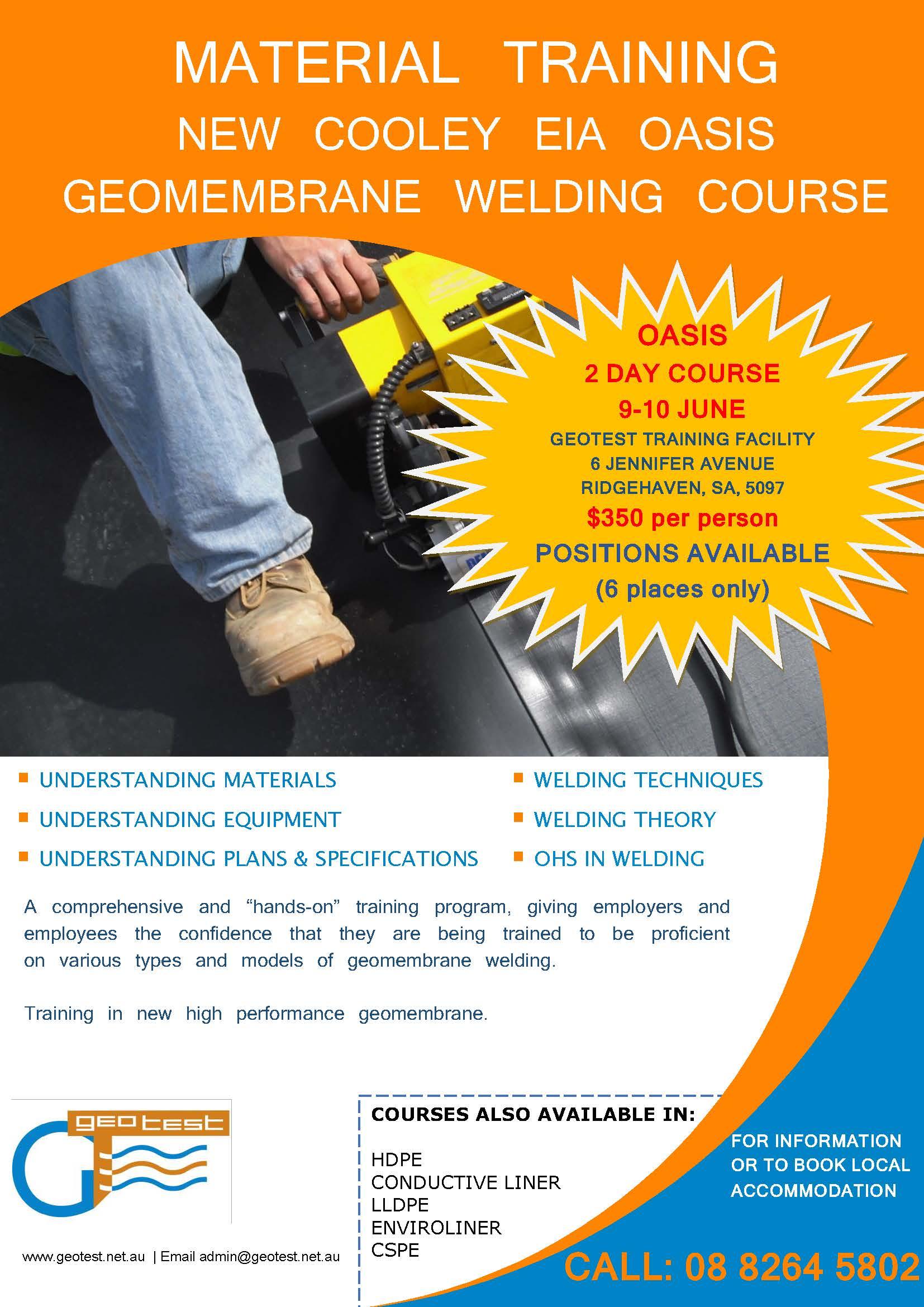 Geotest, News, Australia