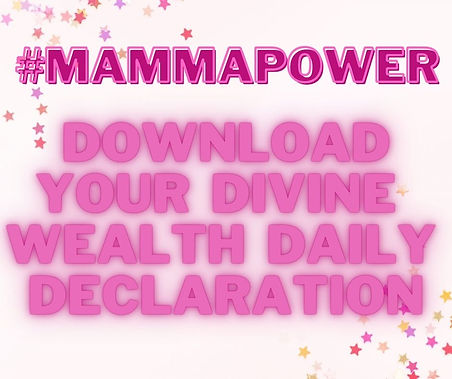 DIVINE WEALTH DAILY DECLARATION CLICK ON