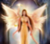 Rashnu Persian Divine Angel Goddess of J
