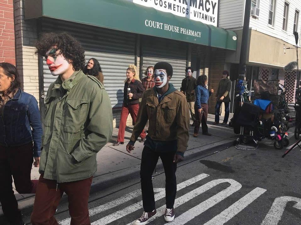The Joker filmed in New Jersey