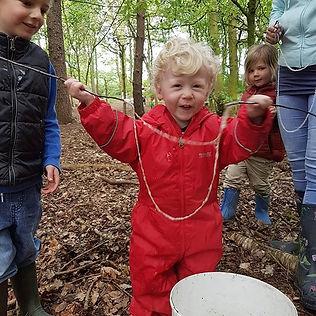 Saturday Mini Roots had bubbly fun first