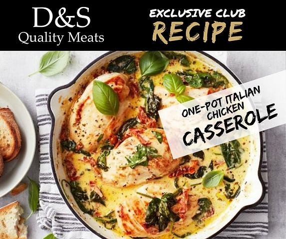 D&S Recipes One-pot Chicken Casserole.pn