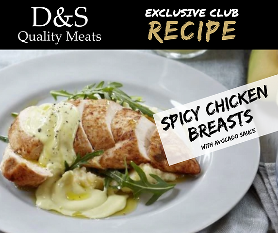 D&S Recipe Tile-Spicy Chick with Avocado