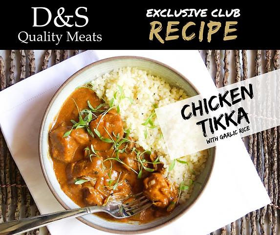 D&S Recipe Tile-Chicken Tikka + Garlic r