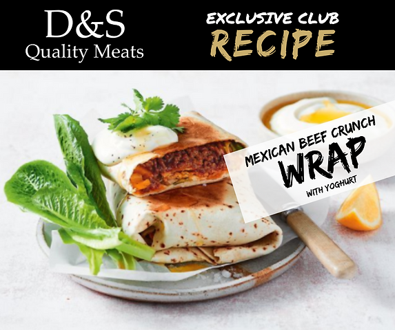 D&S Recipe Tile- Mexican beef crunch wra