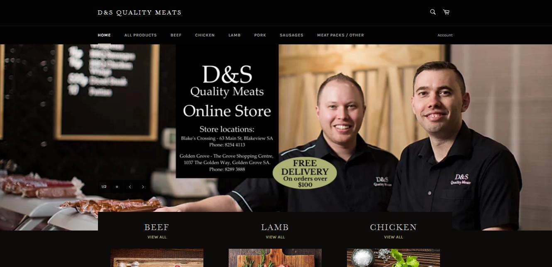 D&S Online Store