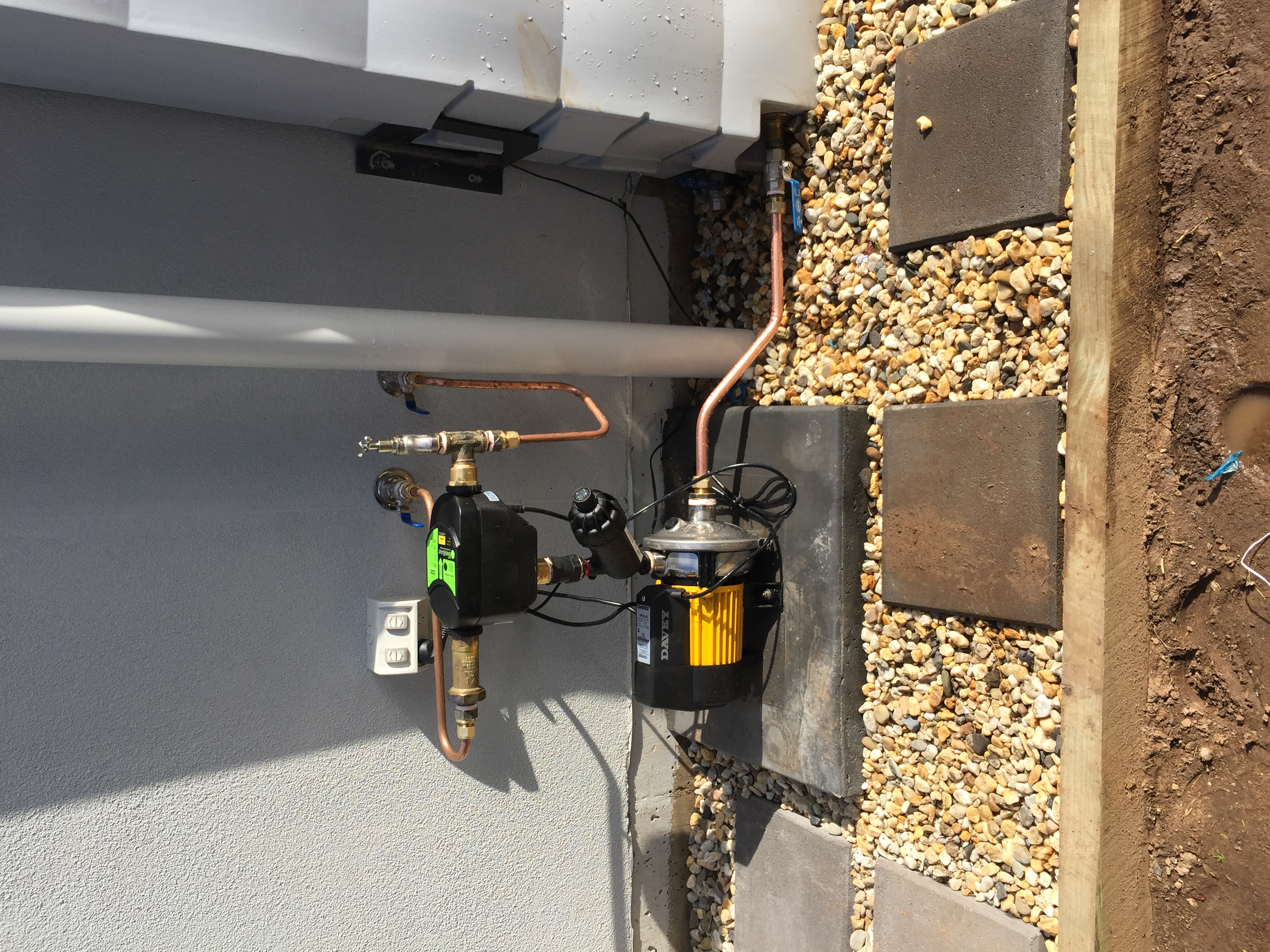 rain-water pump