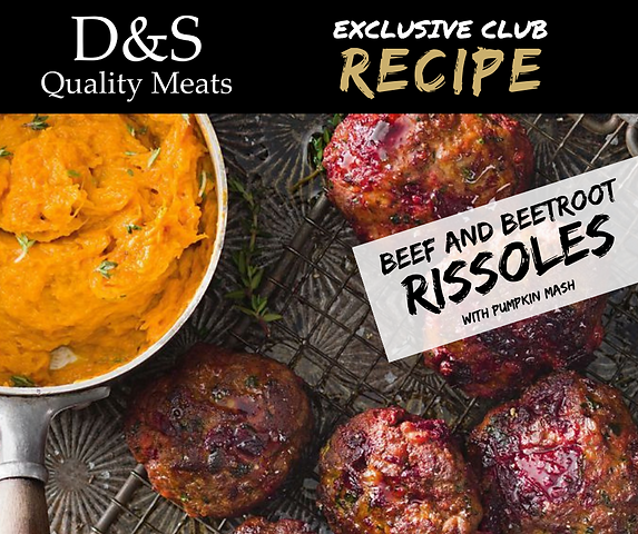 D&S Recipes - Beef and Betroot Rissole.p
