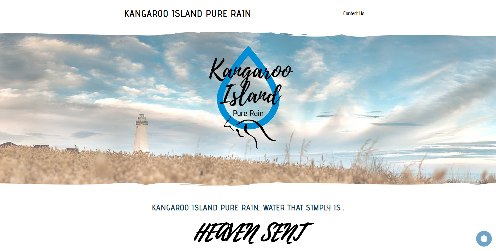 KI Pure Rain Website