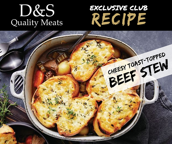 D&S Recipe Tile- Cheesy Toast-Topped Bee