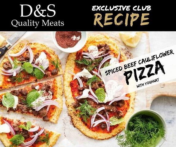 D&S Recipe Tile- Spicy Beef Cauliflower