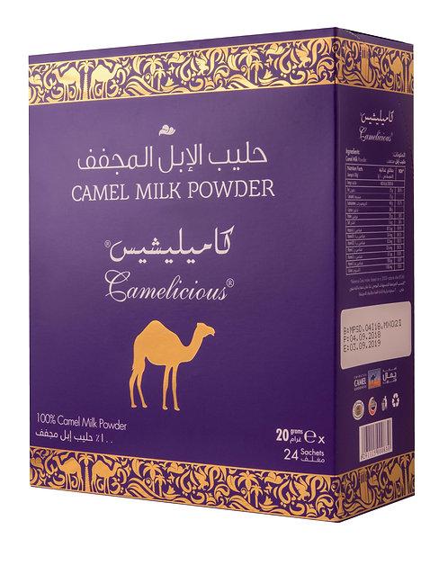 Mleko wielbłądzie w proszku saszetki 24 x 20 g.