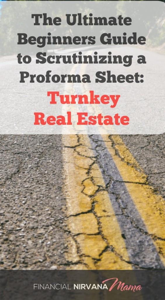 How to Analyze Proforma Sheet