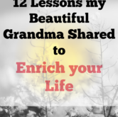 12 Lessons my Beautiful Grandma Shared to Make you Feel Invincible