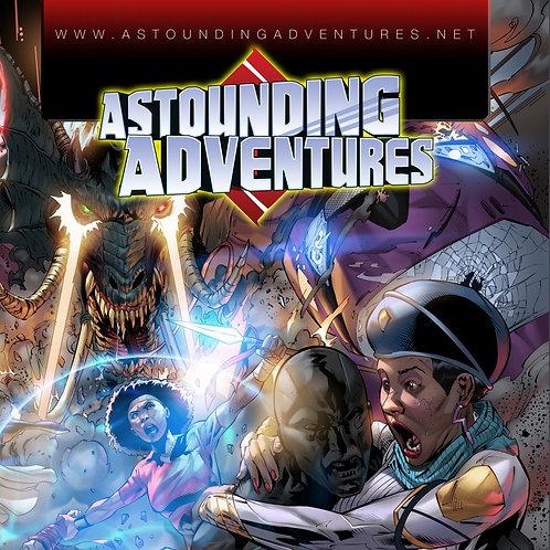 Astounding Adventures Comic Book Issue Zero