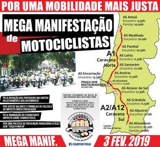 Manifestação Motociclista GAM 03/02/2019