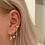 Thumbnail: Follies tooth earrings